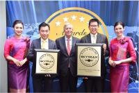 ニュース画像:タイ国際航空、エアライン・アワードのラウンジスパとスタッフ部門で1位