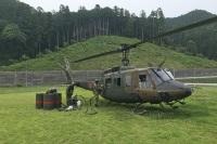 ニュース画像:高知県安芸郡での山林火災、北徳島の第14飛行隊などが災害対応