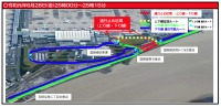 ニュース画像:羽田空港近くの環状八号線、6月28日深夜に標識設置で一部通行止め