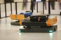 ニュース画像:ダラス空港、乗継時の受託手荷物処理に自動車両ソリューションを試験導入