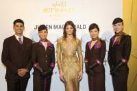 ニュース画像:エティハド航空、バルセロナ・ファッションウィークの公式エアラインに