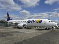 ニュース画像:BOC、発注済み737NGの最終機 スカイマークにJA73AC納入