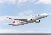 ニュース画像:JALのA350、6月29日から新千歳、成田、北九州に訓練飛行