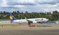 ニュース画像:スカイマーク、7月2日から最新の「JA73AC」を定期便に投入