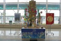 ニュース画像:函館空港、7月8日まで国内・国際ターミナルで七夕笹飾り