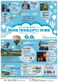 ニュース画像:第29回「空を見上げて」IN東京、夜間のバルーンイリュージョンも