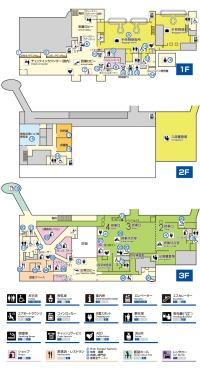 ニュース画像 1枚目:徳島空港ターミナルマップ
