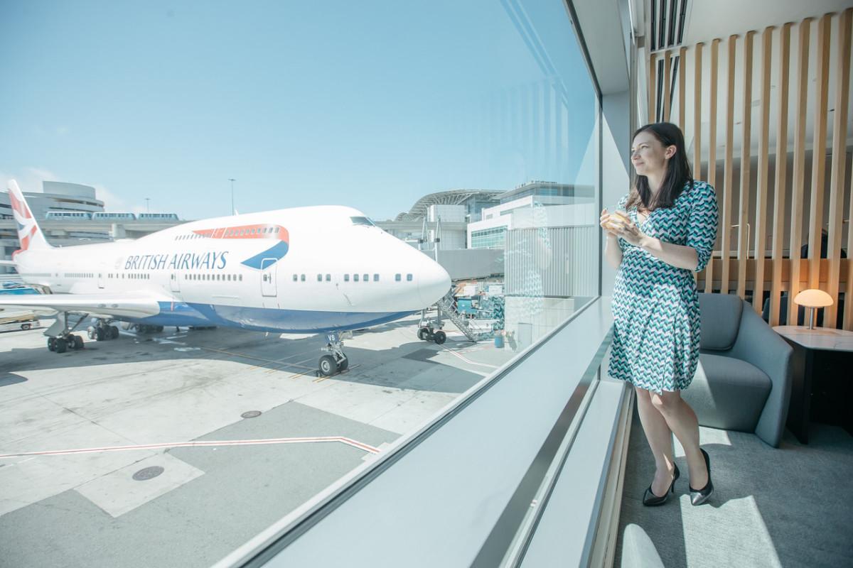 ニュース画像 1枚目:サンフランシスコ国際空港の新ラウンジ