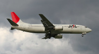 ニュース画像:JTA、「JA8993」を抹消 737-400は残り1機