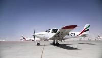 ニュース画像:エミレーツ航空、研修パイロットが初のソロ飛行を実施 動画を公開