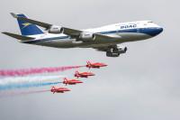ニュース画像 2枚目:ブリティッシュ・エアウェイズ 747とレッドアローズ