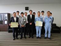 ニュース画像:ジャムコ、航空大学校から仙台分校訓練機の保守業務で表彰
