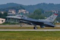 ニュース画像:35FWのF-16、三沢基地でデモフライト訓練 7月30日に3回