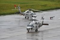 ニュース画像:海自、舞鶴、大湊、館山航空基地所属のSH-60J/Kが対潜水艦戦訓練