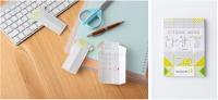 ニュース画像:ソラシドエア、8月から機内販売に「お手紙メモ」と「更生之素」が登場