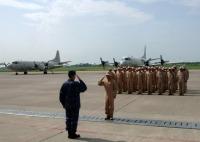 ニュース画像:八戸航空基地、第35次派遣海賊対処行動航空隊の帰国行事を実施