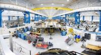 ニュース画像:ボーイング、V-22胴体組み立て・改修施設を開設