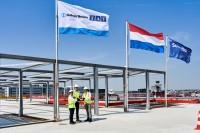 ニュース画像:アムステルダム・スキポール国際空港、新ピアAの建設進む