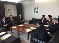 ニュース画像 1枚目:JAL本社で要望書提出
