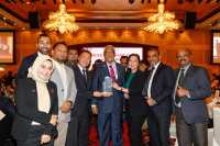 ニュース画像:エアアジア、マレーシア労働安全衛生協会アワードの物流・輸送分野で金賞