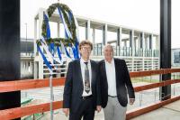 ニュース画像:ベルリン・ブランデンブルク国際空港、ターミナル2の上棟式を開催