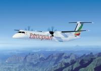ニュース画像:デ・ハビランド・カナダ、600機目のQ400をエチオピア航空に納入