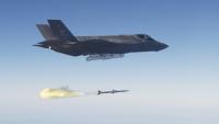 ニュース画像 1枚目:F-35A ライトニングII AMRAAMの実弾発射訓練