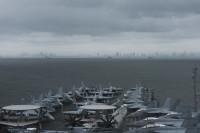 ニュース画像:ロナルド・レーガン空母打撃群、フィリピン・マニラに寄港