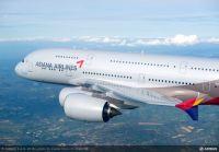 ニュース画像:アシアナ航空、冬スケジュールで仁川/台北線にA380を投入