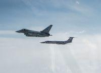 ニュース画像:RAFタイフーンFGR4、2日間で5機のロシア軍機をインターセプト