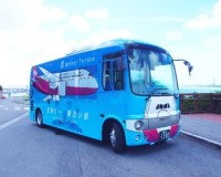 ニュース画像 1枚目:瀬長島行きの路線バス ラッピングデザイン