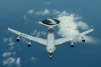 ニュース画像:アメリカ空軍嘉手納基地のE-3B、インド太平洋地域を警戒監視