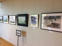 ニュース画像:大館能代空港、アートギャラリーで「艸萌会」の作品展示 8月24日まで