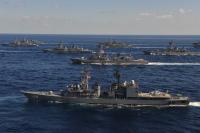 ニュース画像 1枚目:護衛艦 うみぎり DD-158など