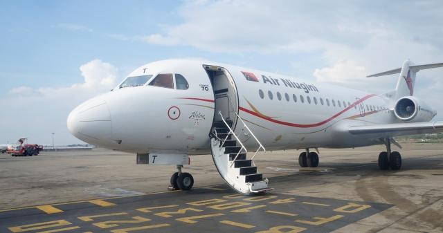 ニュース画像 1枚目:ニューギニア航空 Fokker 70