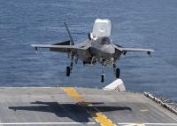 ニュース画像 2枚目:F-35B、ワスプへの着艦