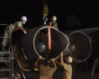ニュース画像:グアム・アンダーセン基地でメンテナンスを受ける、成層圏の要塞