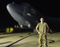 ニュース画像 3枚目:第36遠征航空機整備中隊の整備員