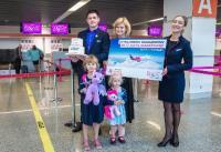 ニュース画像:ウィズ・エア、ワルシャワで搭乗者2,000万人を突破 就航15周年で