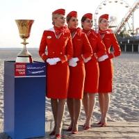 ニュース画像:アエロフロート、FIBA W杯2019のトロフィーをモスクワに輸送