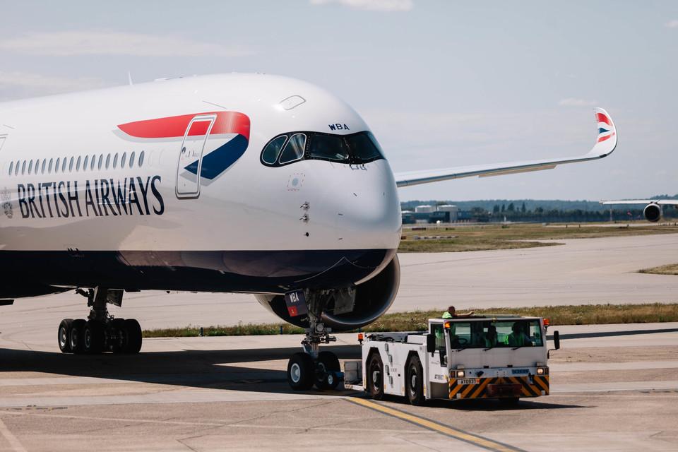 ニュース画像 1枚目:ブリティッシュ・エアウェイズ A350-1000