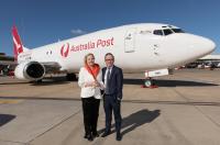 ニュース画像:カンタス航空、オーストラリア郵便と提携更新 貨物転用機を導入へ