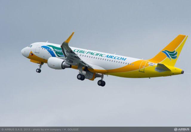 ニュース画像 1枚目:セブパシフィック航空 A320