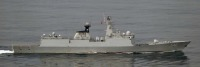 ニュース画像:海自P-1など、中国海軍の艦艇2隻が対馬海峡を通過 日本海にも進出