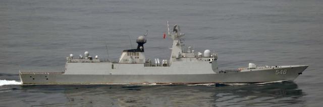 ニュース画像 1枚目:ジャンカイⅡ級フリゲート 546