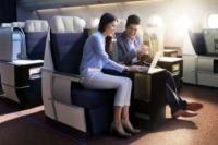 ニュース画像:マレーシア航空、A350のプレミアクラスで無料Wi-Fiサービス提供