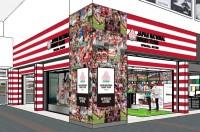 ニュース画像:ラグビー日本代表オフィシャルストア、羽田第1にオープン