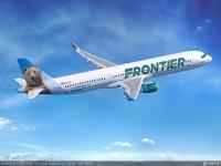 ニュース画像:アメリカLCCのフロンティア航空、初のA321を9機 確定発注
