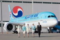 ニュース画像:大韓航空、機内で発生した緊急患者に乗務員が対応 無事救命