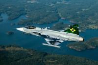 ニュース画像:ブラジル空軍向けSAABグリペンE初号機、8月26日に初飛行